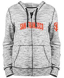 5th & Ocean Women's San Francisco Giants Space Dye Hoodie