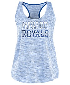 Women's Kansas City Royals Space Dye Back Logo Tank