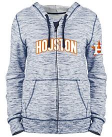 5th & Ocean Women's Houston Astros Space Dye Hoodie