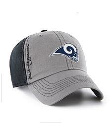 '47 Brand Los Angeles Rams Super Bowl LIII Climb CLEAN UP Strapback Cap