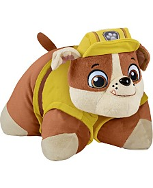 Pillow Pets Nickelodeon Paw Patrol Rubble Stuffed Animal Plush Toy
