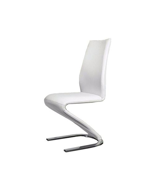 Benzara Contemporary Z -Shaped Side Chair - Set Of 2