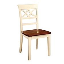 Dual Tone Side Chair