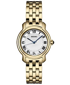 Women's Essential Gold-Tone Stainless Steel Bracelet Watch 29mm