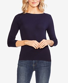 Vince Camuto Twisted Back-Cutout Top