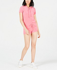 Hooded Microterry Romper