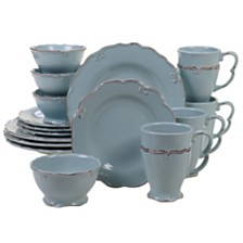 Certified International Vintage Blue 16-Pc. Dinnerware Set