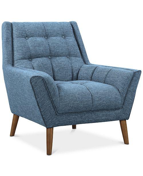 Armen Living Cobra Chair, Quick Ship