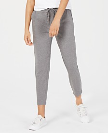 Eileen Fisher Drawstring Slouchy Ankle Pants, Regular & Petite