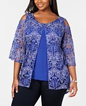 829f4cac41b1b Plus Size Dressy Tops  Shop Plus Size Dressy Tops - Macy s