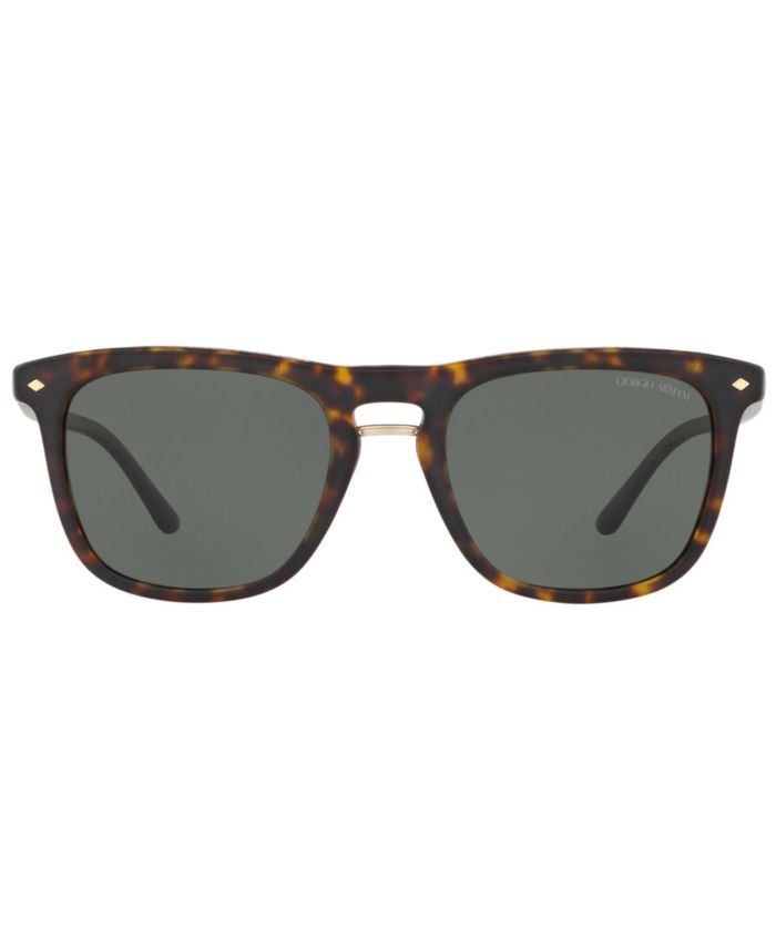 Giorgio Armani Polarized Sunglasses, AR8107 53 & Reviews - Sunglasses by Sunglass Hut - Men - Macy's