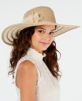 56491147 Nine West Packable Super Floppy Hat With Flower