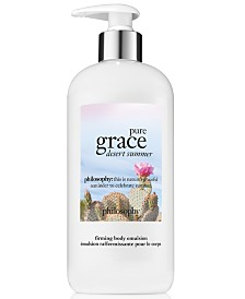 philosophy Pure Grace Desert Summer Firming Body Emulsion, 16-oz.