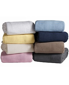 Elite Home Grand Hotel Cotton Blanket Collection