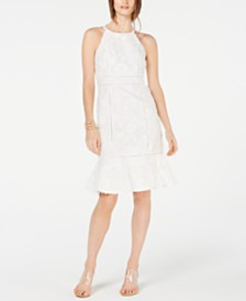 I.N.C. Halter-Neck Sheath Dress, Created for Macy's
