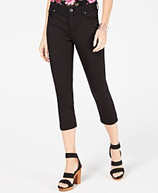 INC INCFinity Stretch Cropped Jeans in Curvy, Created for Macy's
