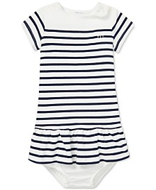 Polo Ralph Lauren Baby Girls Striped T-Shirt Dress
