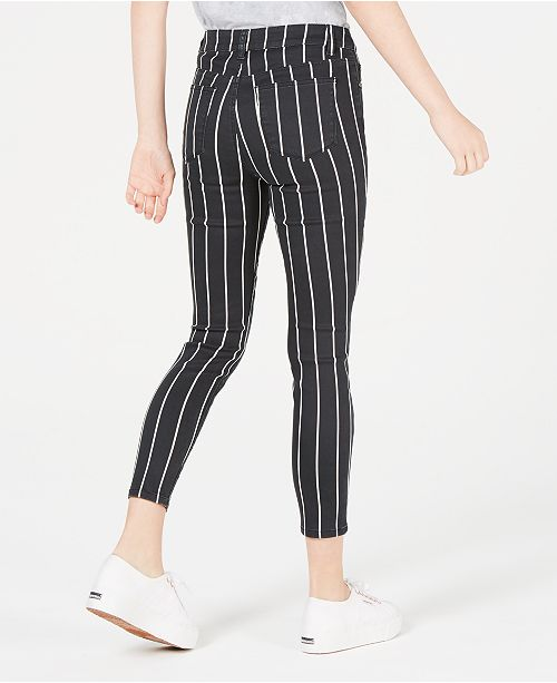 et Juniors Tinseltown skinny Stripe a commentaires Juniors 'Jeans rayures OXPkZiu