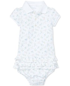 Polo Ralph Lauren Baby Girls Ruffled Polo Dress