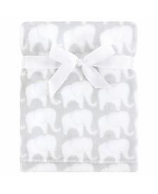 Hudson Baby Silky Plush Blanket, One Size