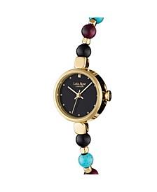 """Kindness"", Ladies, Genuine Jewel Mix Beaded Friendship Bracelet, 22MM"