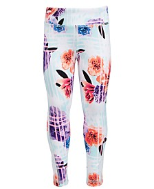 Ideology Toddler Girls Floral-Print Leggings, Created for Macy's