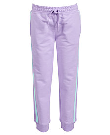 Ideology Toddler Girls Side-Striped Jogger Pants, Created for Macy's