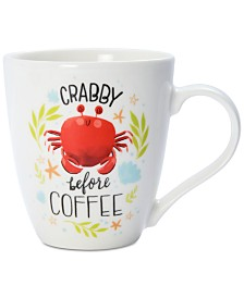 Pfaltzgraff Crabby Before Coffee Mug