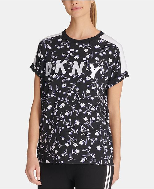 DKNY Sport Printed Logo T-Shirt, Created for Macy's