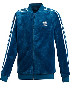 adidas Originals Big Boys Polar Fleece Track Jacket