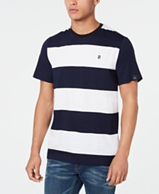 DKNY Men's Striped T-Shirt
