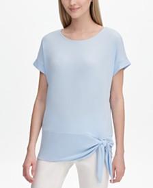 Calvin Klein Side-Tie Top