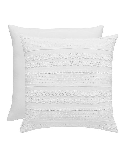 "Piper & Wright Wynona 16"" Square Pillow"