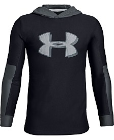 Under Armour Big Boys Tech Logo Hoodie