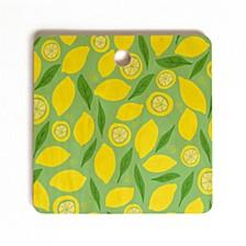 Lemonade Square Cutting Board