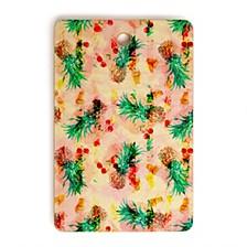 Camarasa Tropical Glitch Rectangle Cutting Board
