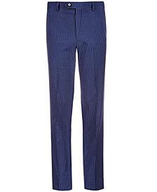 Lauren Ralph Lauren Big Boys Stretch Navy Stripe Suit Pants