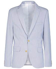 Lauren Ralph Lauren Big Boys Stretch Stripe Suit Jacket