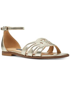 Nine West Genna Flat Sandals