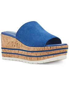 Nine West Reagan Cork Wedge Sandals