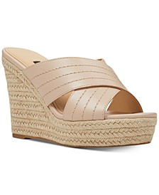 Hope Platform Wedge Sandals