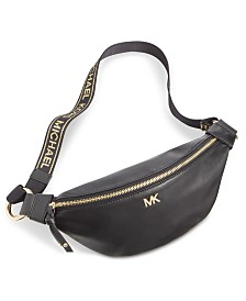 53928470794393 Michael Kors Nylon Fanny Pack, Created for Macy's & Reviews ...
