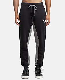 True Religion Men's Paneled Joggers