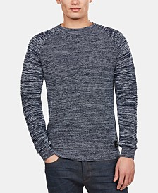 G-Star RAW Men's Suzaki Knit Long Sleeve Shirt