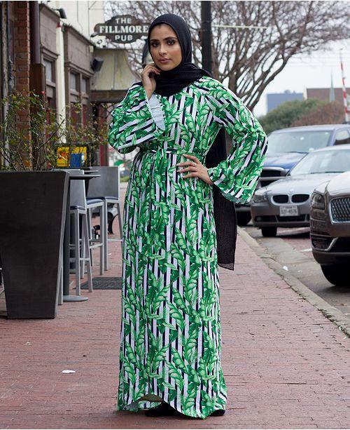 Verona Collection Ella Tie-Waist Maxi Dress