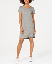 4b631e3b131 Eileen Fisher Short-Sleeve Shirt Dress