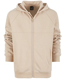 Ideology Big Boys Race Stripe Full-Zip Hoodie, Created for Macy's