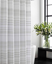 Irregular Stripe Shower Curtain
