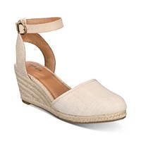 Deals on Style & Co Mailena Wedge Espadrille Sandals