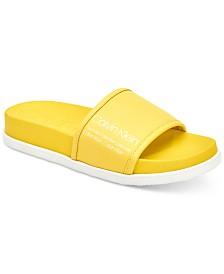 Calvin Klein Women's Maree Pool Slides